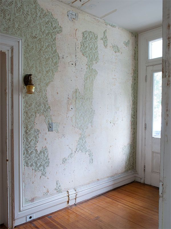 One Thing We Knew From The Second We Peeked Through The Windows Of Our House For The First Time Was That Removable Wallpaper Painting Over Wallpaper Wallpaper