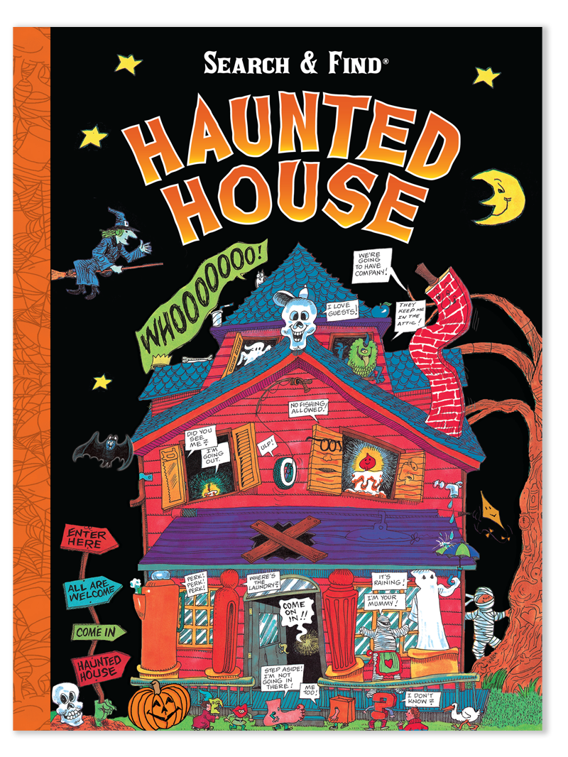 Search & Find Haunted House Activity Book - In this