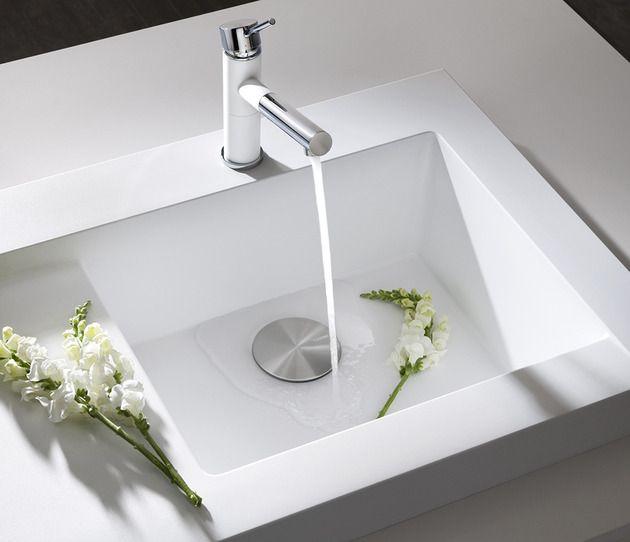 Raised Kitchen Sink Workstation With Dual Draining Modex By Blanco Sink Kitchen Sink Design Kitchen Sink Faucets