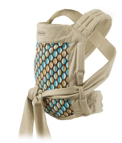 Infantino Wrap and Tie Baby Carrier, Khaki/Modern $30.00