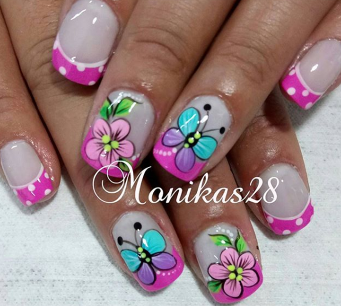 Uñas Semipermanentes Decoradas Pin De Mina Figueroa En Uñas Nail Art Wow Nails Y Short