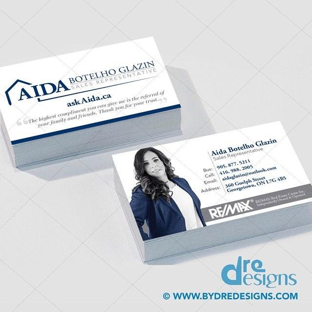 Branding business card design for aida sales representative branding business card design for aida sales representative realestatedesign dredesigns reheart Images