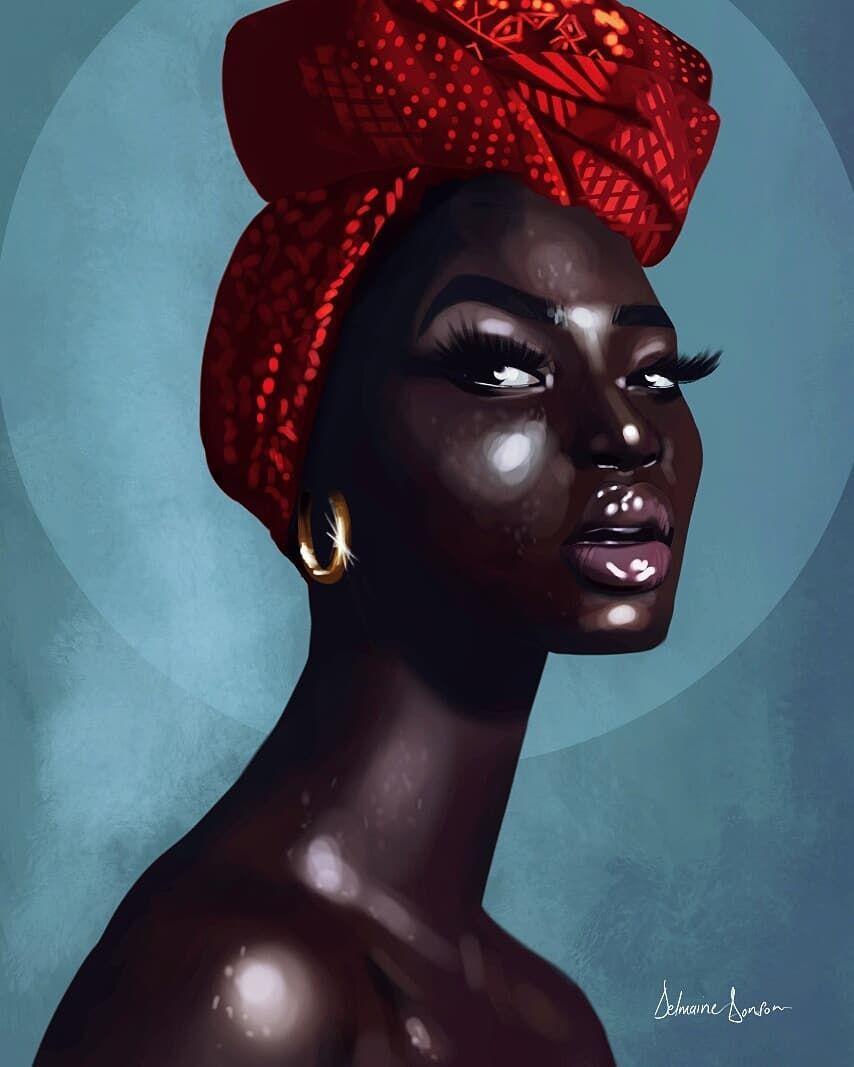Delmaine donson art on instagram black everyday