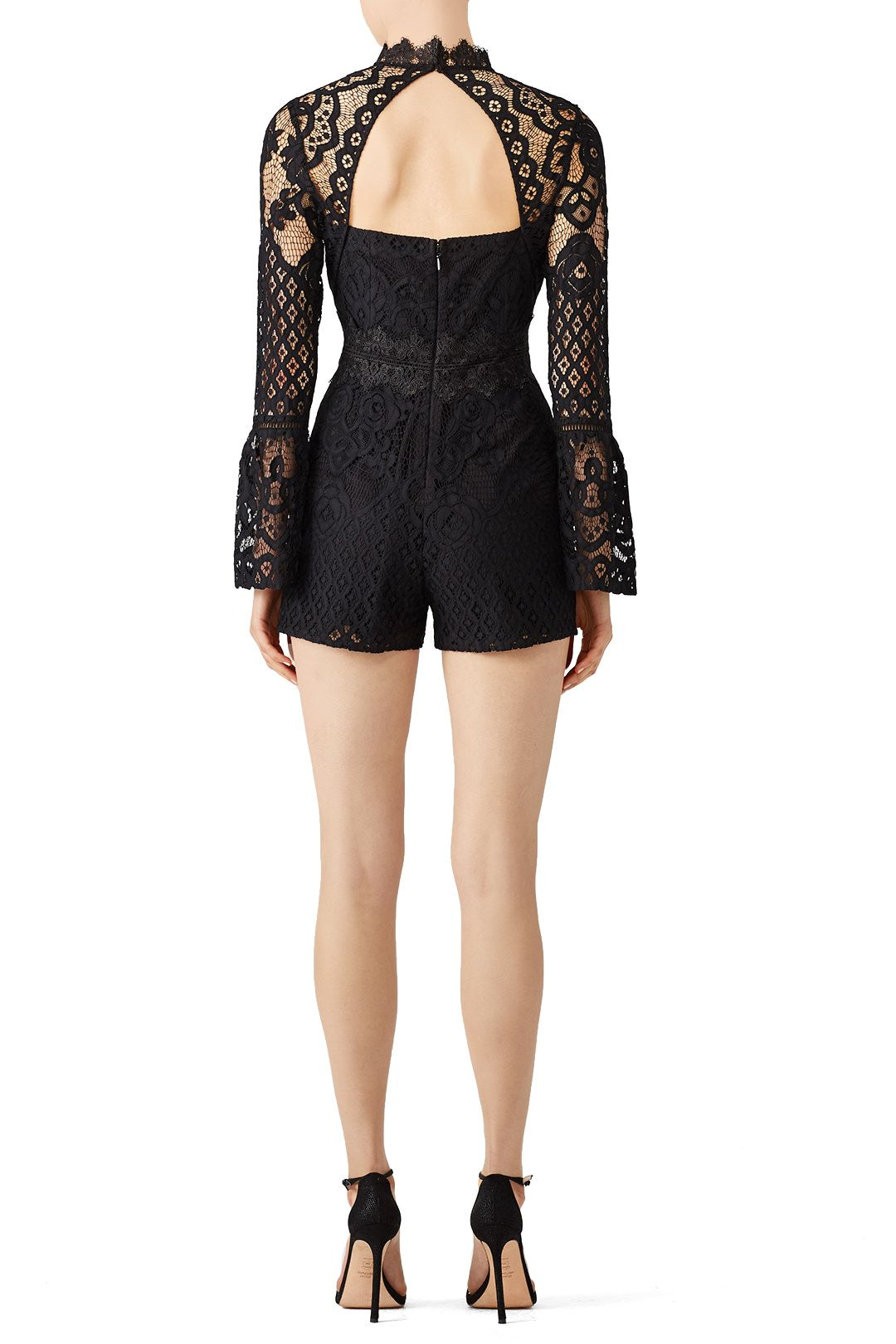 74572cb07bc Rent Lena Woven Lace Romper by Adelyn Rae for  30 only at Rent the Runway.