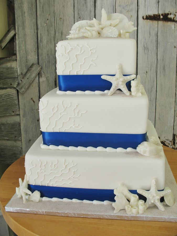 royal blue wedding cake pictures beautiful weddingcake for your keywest wedding let 19374