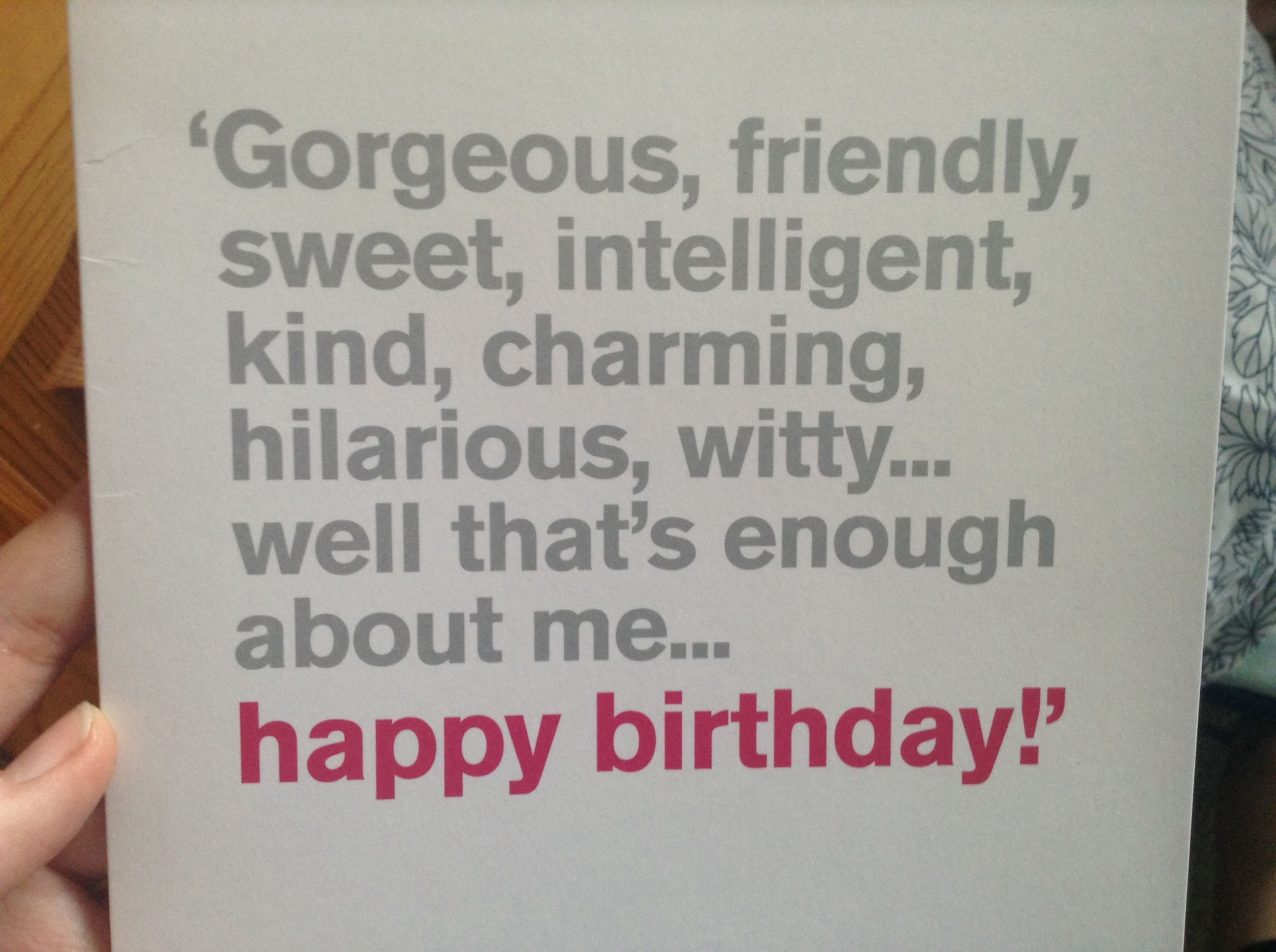Funny Happy Birthday Quote:)