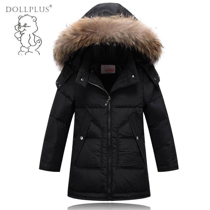 2f72abdae3ea High Quality 2017 Boys Down Jacket Kids Down Coat Children Baby Boys ...