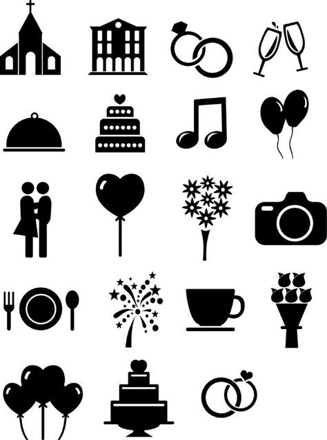 Photo of Ausgefüllte Hochzeits-Ikonen und Vorlagen für euren Ablaufplan –