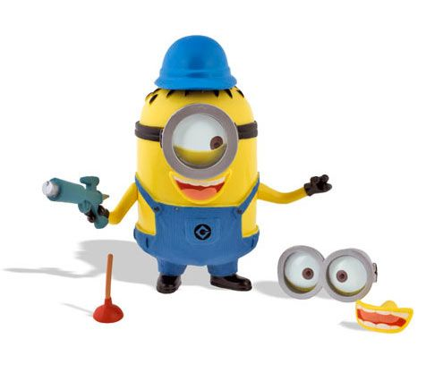 Figura Gru Mi Villano Favorito Crea Un Minion Como Mr Potato