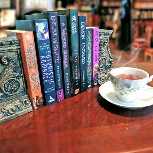 #BooksAndTea