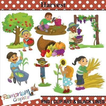 Harvest Clip Art Business For Kids Clip Art Art Journaling Supplies