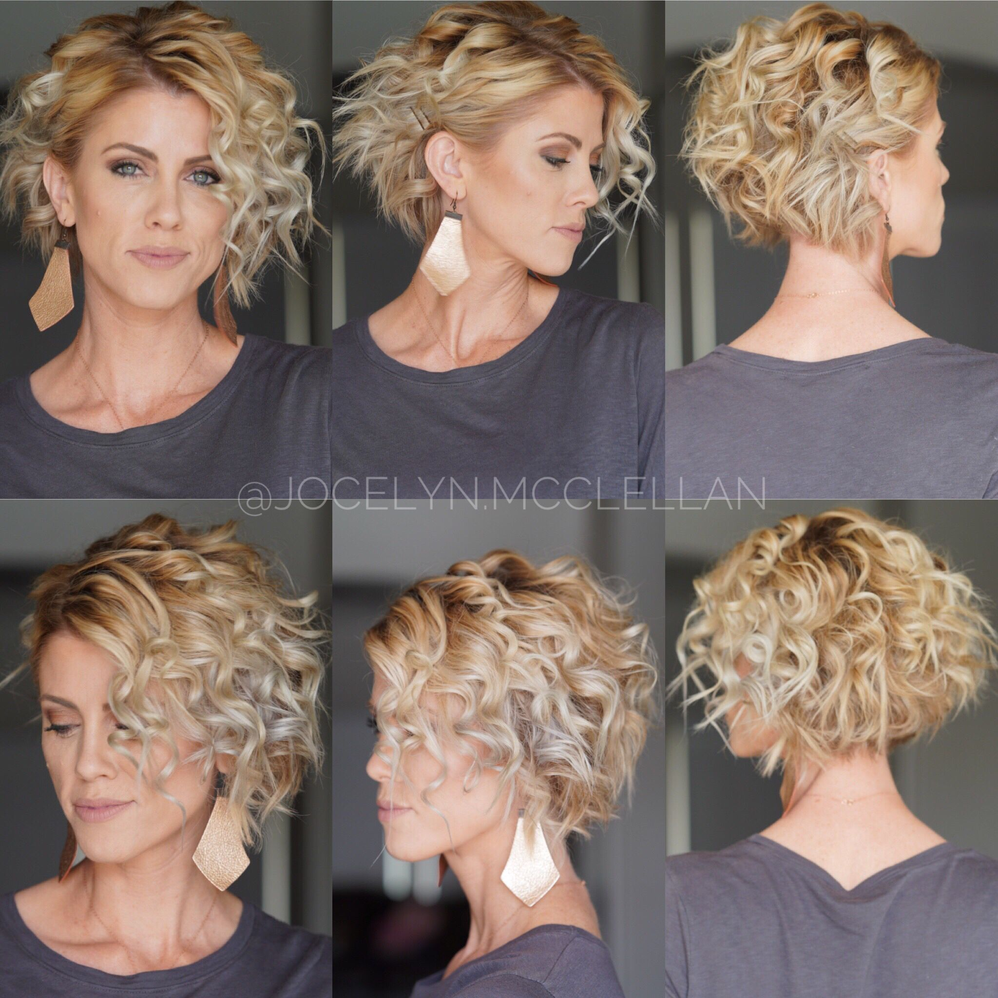 Second Day Short Hairstyle New 2019 In 2020 Curling Wand Short Hair Flat Iron Short Hair How To Curl Short Hair
