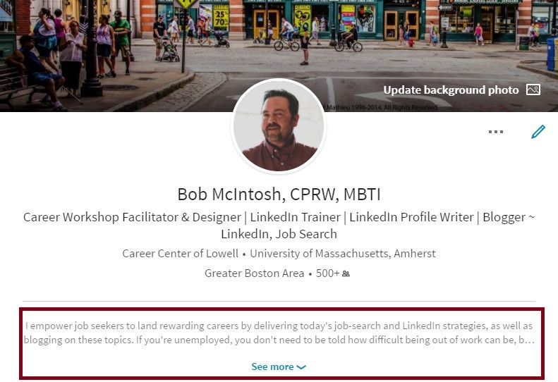 3 reasons why the linkedin summary is key for career