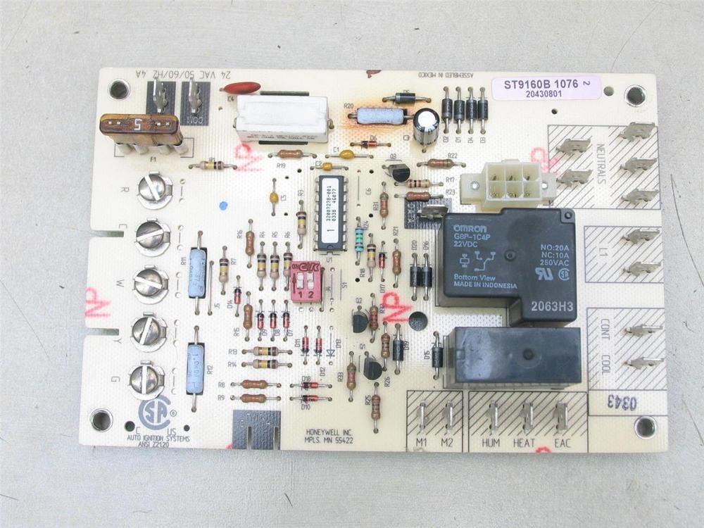 eBay #Sponsored Honeywell ST9160B1076 Fan Control Circuit Board