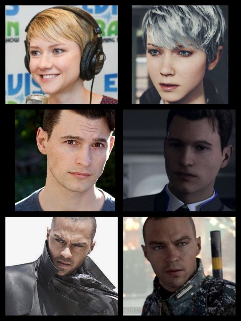 Screams Like A 4year Old Child I Forgot That S What They Were Going For Detroit Become Human Actors Detroit Become Human Connor Detroit Become Human
