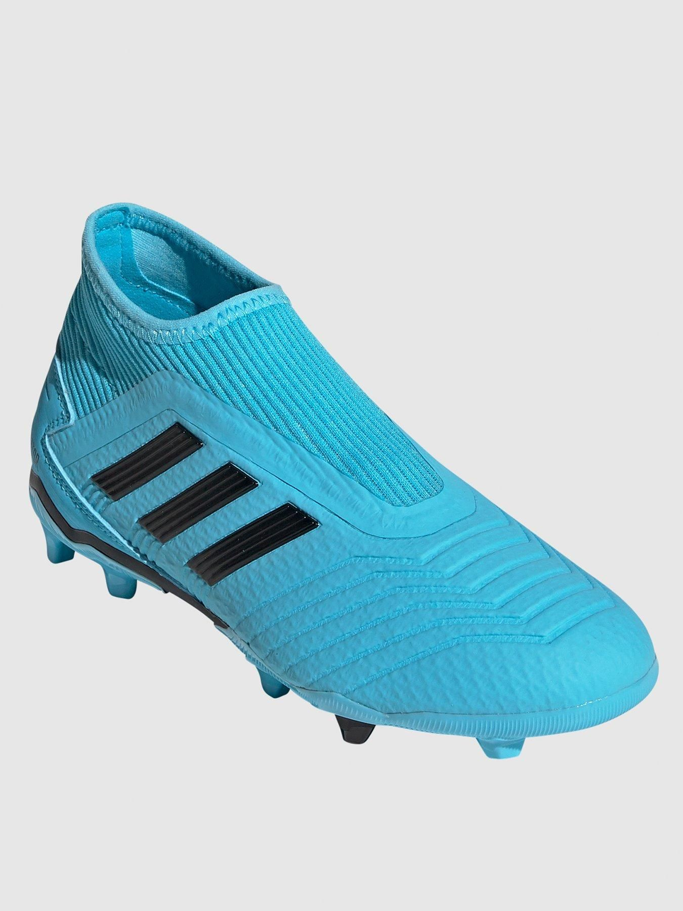 Adidas Junior Predator Laceless 19 3 Firm Ground Football Boot Football Shoes Sport Shoes Men Laceless