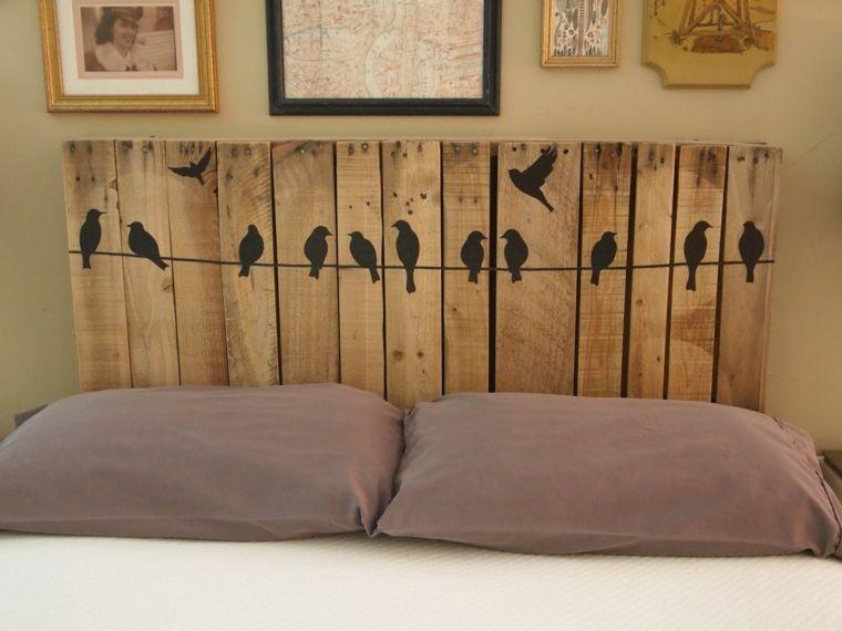 Testata Del Letto Con Bancali : Testata del letto facile da realizzare fai da te utilizzando le