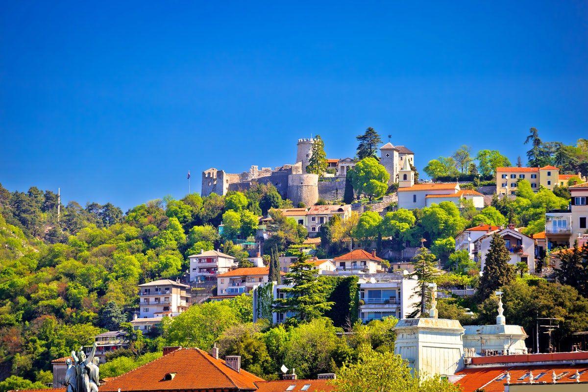 Trsat And Its Castle The Faithful Guardian Of Rijeka Rijeka Castle Sightseeing