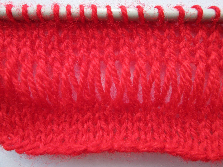 D i y tuto tricot apprendre a tricoter le point riviere simple ou arabes tricot 2 - Apprendre a tricoter gratuitement ...