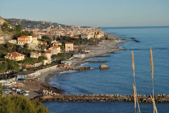 Ventimiglia, Italy. The site of  Chloe purse shopping with my Lucy and Marie-Helene. Gorgeous city.