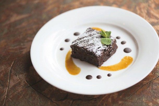 @Canyon Ranch Dark Chocolate Zucchini Cake | Delicious Dessert Recipe from Chef Scott Uehlein