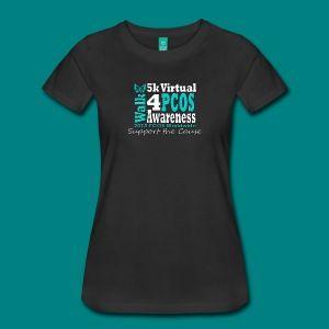 PCOS 5k virtual walk September 2015 Shirt
