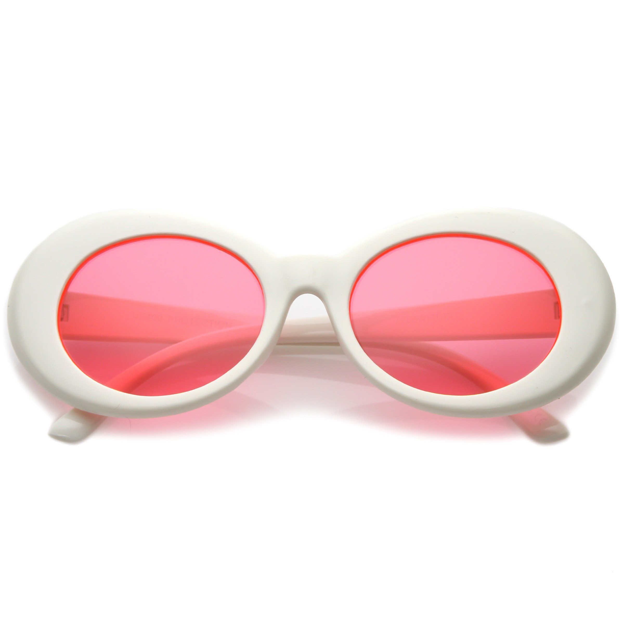 aa16c10aed Valley City X zeroUV Aubrey Oversize Cat Eye Sunglasses from zeroUV. Saved  to Hats Belts Glasses. Women s Retro Disco Oval Clout ...