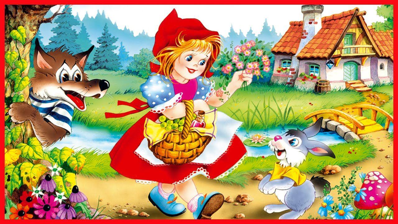 картинки к сказке красная шапочка для детей