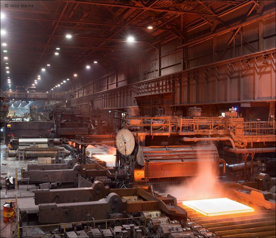 Arcelormittal Burns Harbor Heavy Plate Mill Viktor Macha Industrial Photography Industrial Photography Industrial Photography
