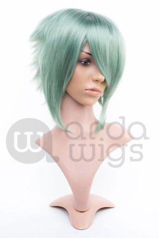 Cosplay Wig Jaguar Laurel Green CL051