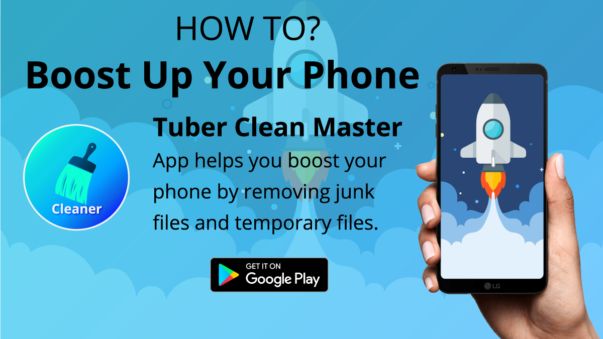 Tuber Clean Master In 2020 Cleaning Master Master App Android Apps Free