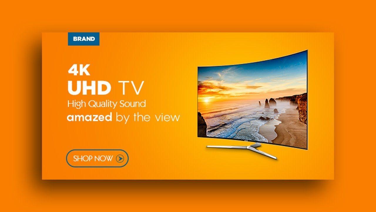 Android 4k Ultra Hd Smart Tv Facebook Banner Design Tv Sale Banner Design Banner Design Tv Sales Sale Banner