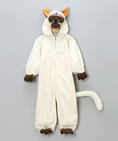 Take a look at this White Siamese Cat Dress-Up Outfit - Toddler & Kids by ArkMiPa Costumes on #zulily today!