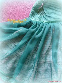 Entre Hilos y Puntadas: Vestido de Gala Crochet niñas