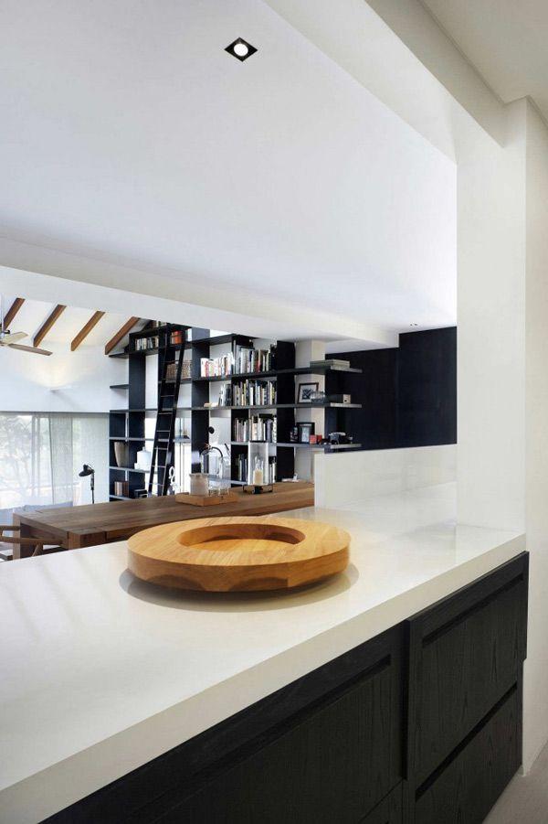 Großraumgestaltungen für Wohnzimmer in Singapur | Keuken ideen ...