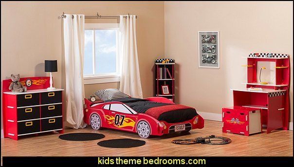 Car Beds   Car Racing Theme Bedrooms   Theme Beds   Car Beds   Race Car  Beds   Cars   Transportation Theme   Construction Theme   Boys Bedroom Ideas  ...