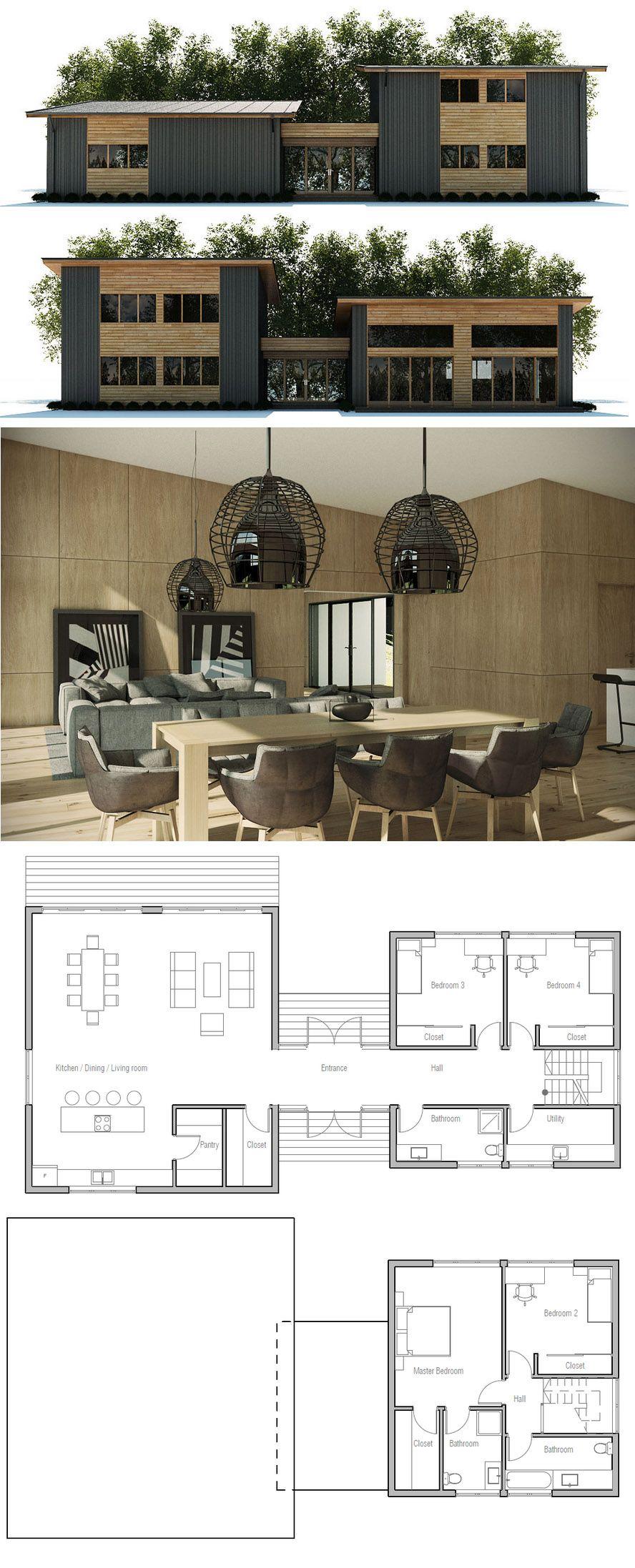 Modern home plans house modernhome modernhomedecor moderninteriordesign also rh pinterest