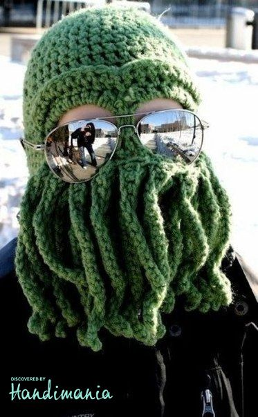 Cthulhu hat - No pattern but I need to find one!  f78d94e28c3