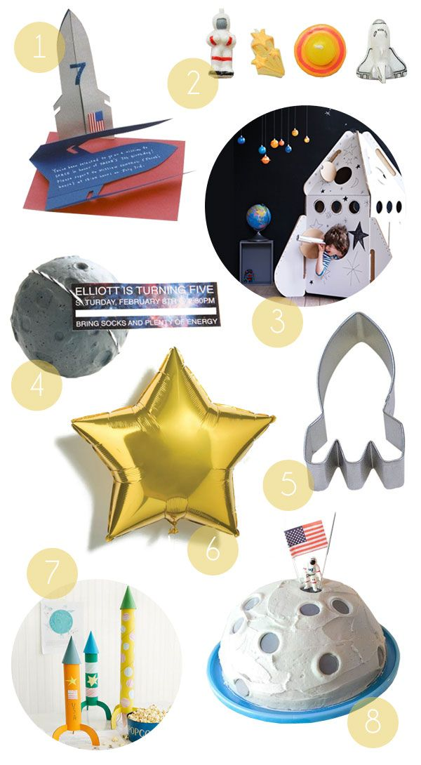 astronaut party supplies - 600×1090