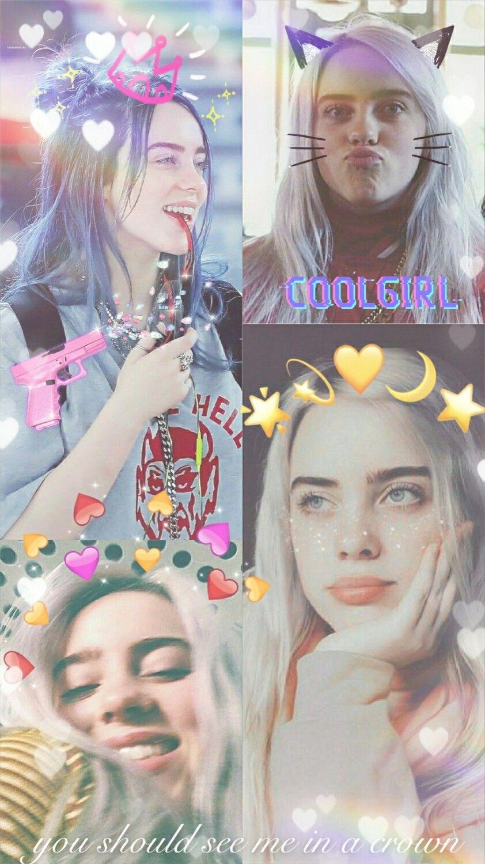 Billie Eilish Aesthetic Wallpaper You Should See Me In A Crown I Love Her So Much Billie Eilish Billie Wallpaper Achtergronden