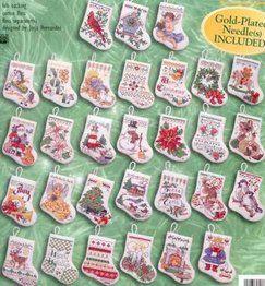 Many Mini Stocking Ornaments