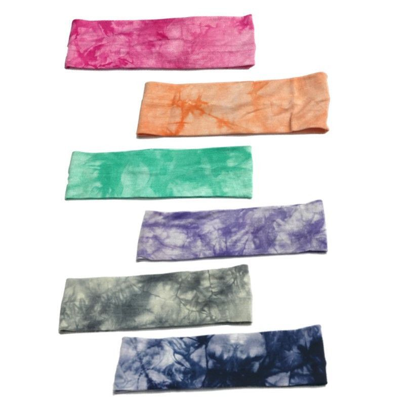 These Tie Dye Headbands Are So Soft! Perfect For Holding