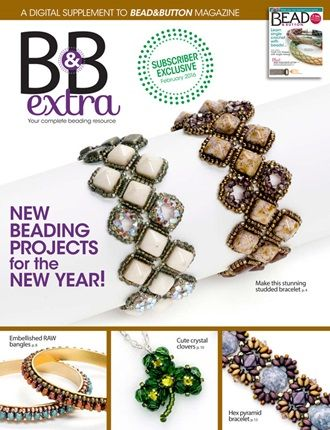 February 2016 B&B Extra.  Find more projects on BeadAndButton.com