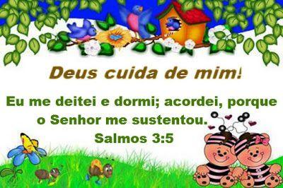Promessas para hoje: Livramento e Fé Salmos 3