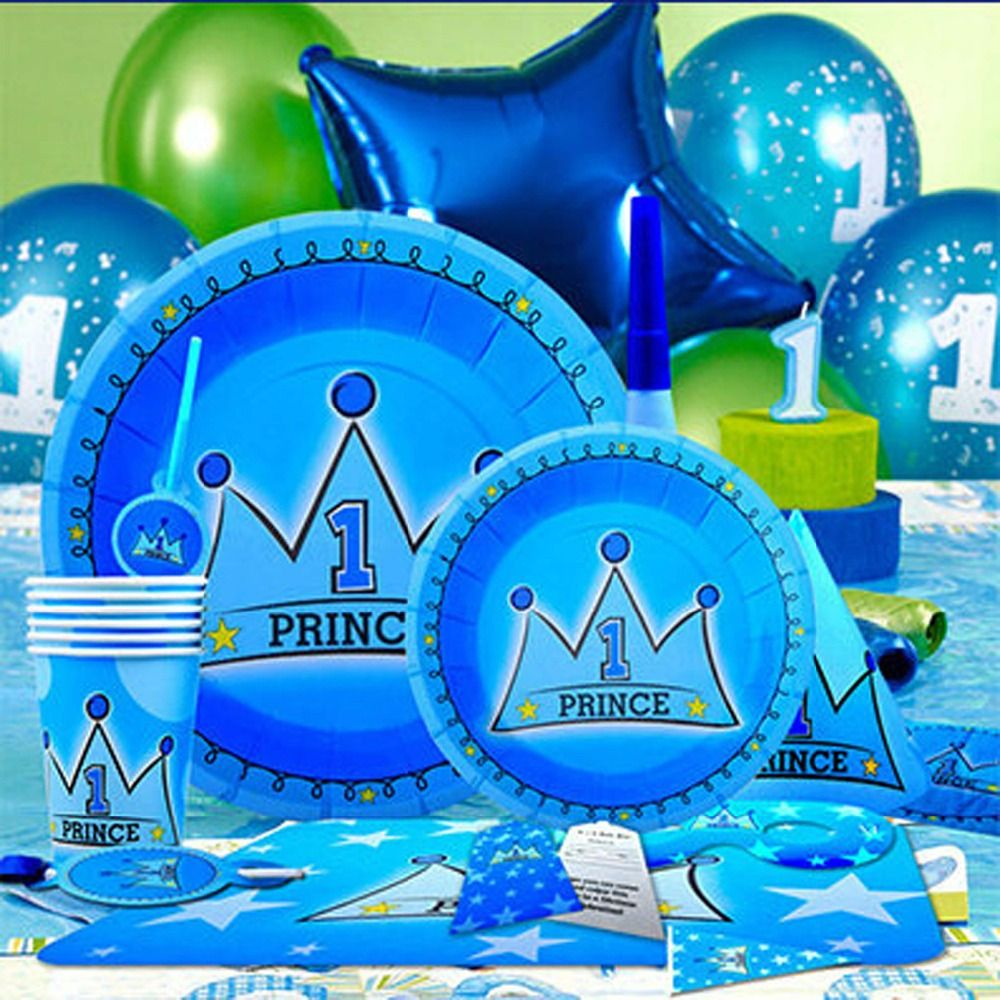 First Birthday Boy Boy Birthday Crown Boy Birthday: Prince Birthday Decorations Promotion-Shop For Promotional