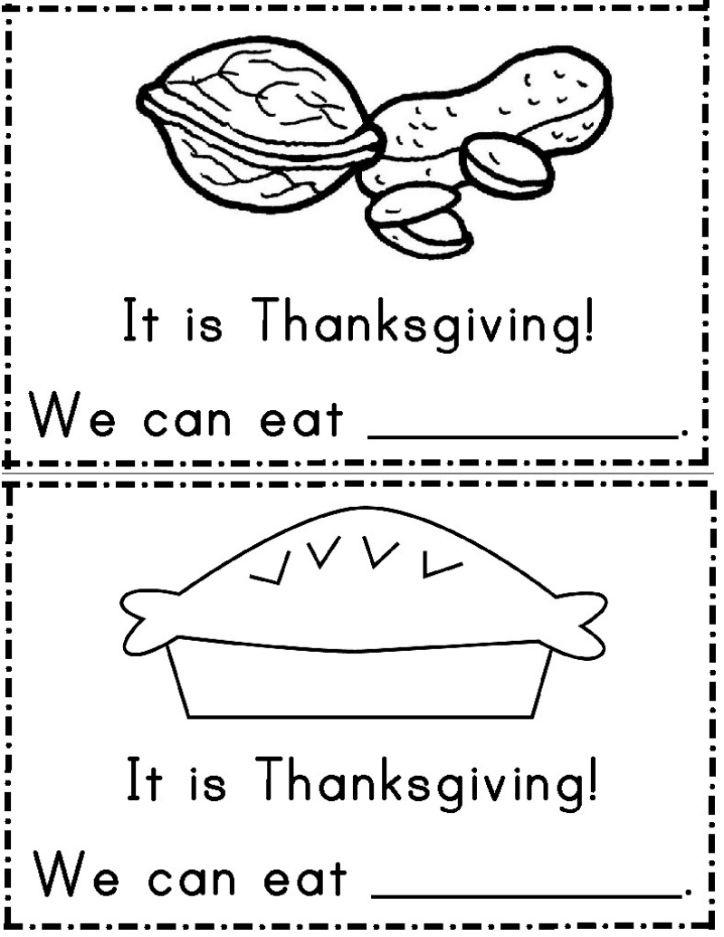 thanksgiving emergent reader.pdf Readers, Emergency