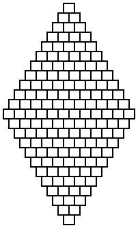 Diamond brick stitch patterns ~ Seed Bead Tutorials