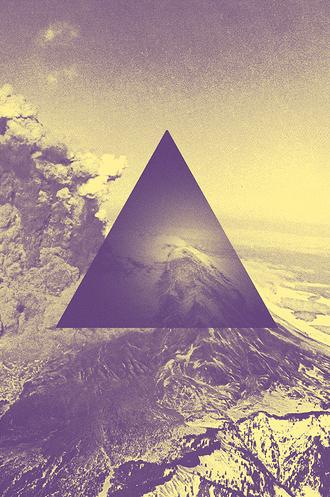 Mountains are triangular