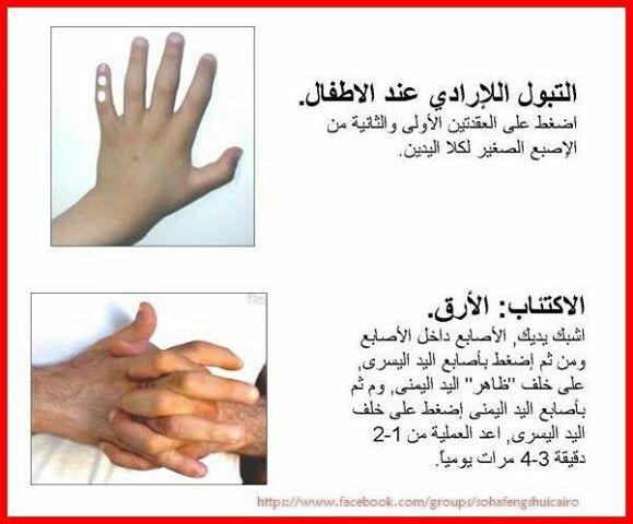 التبول اللاإرادي الإكتئاب Body Health Body Hacks Reflexology Massage