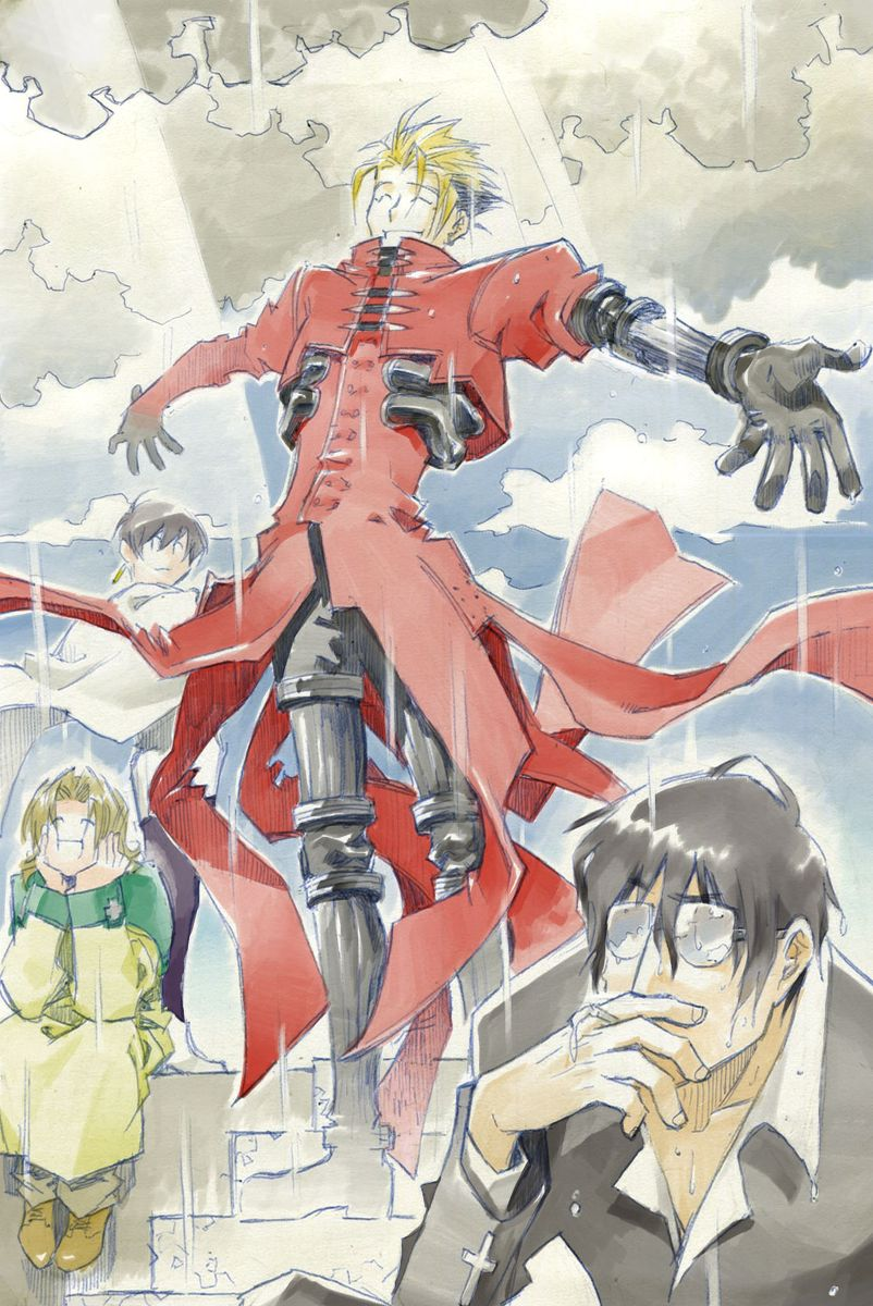 BBB&TRIGUN LOG Trigun Anime, Anime love, Anime shows